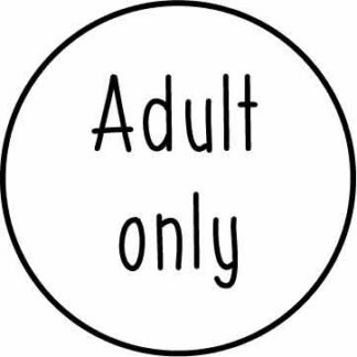 Adult - over 18s only